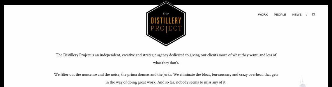 Thedistilleryproject